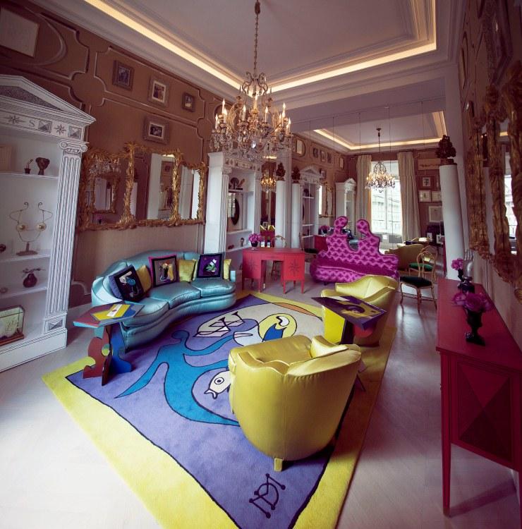 bureau elsa Luxe et Opulence avec Vincent Darré Luxe et Opulence avec Vincent Darré Bureau Elsa Schiaparelli by Christophe Rou  1