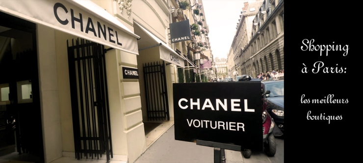 chanel Shopping à Paris: les meilleurs boutiques Shopping à Paris: les meilleurs boutiques a