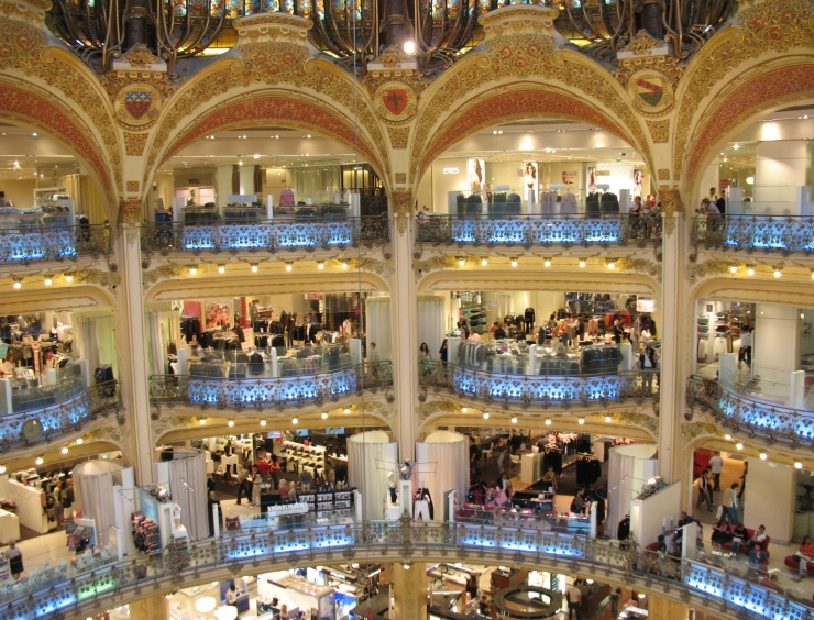 galleries lafayette Shopping à Paris: les meilleurs boutiques Shopping à Paris: les meilleurs boutiques galleries
