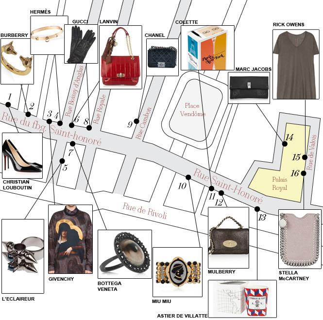 rue saint honoré Shopping de Noël: le parcours à faire Shopping de Noël: le parcours à faire rue st honore v2bis 1