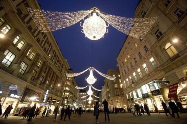 vienne autriche Les 10 meilleurs éclairages de Noël de 2012 Les 10 meilleurs éclairages de Noël de 2012 vienne