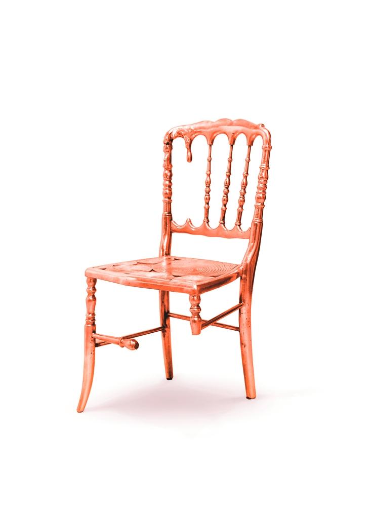 chaise cuivre Nouvelle chaise Emporium par Boca do Lobo Nouvelle chaise Emporium par Boca do Lobo chaise rouge