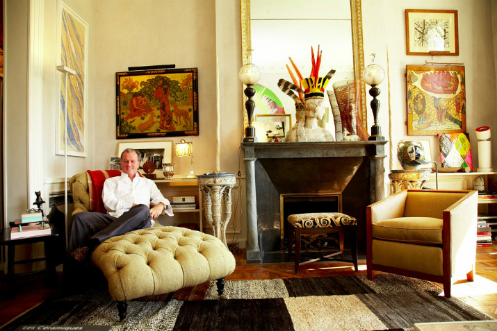 le designer d int rieur jacques grange. Black Bedroom Furniture Sets. Home Design Ideas