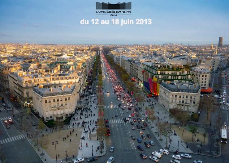 """""""Aujourd'hui et grâce au succès de sa première édition et de ses 15 000 spectateurs, commence la deuxième édition du Champs-Elysées Film Festival qui termine dans le 18 juin"""" Le Champs-Elysées Film Festival 2013 Le Champs-Elysées Film Festival 2013 Champs Elys  es Film Festival"""