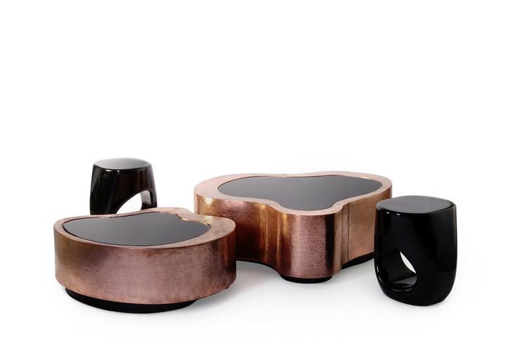 « Nouveaux matériels et couleurs peuvent être utilisés pour créer une ambiance plus accueillante, en suivant le changement de la nature. » Des tables de centre chez-vous pour cet Automne Des tables de centre chez-vous pour cet Automne 9