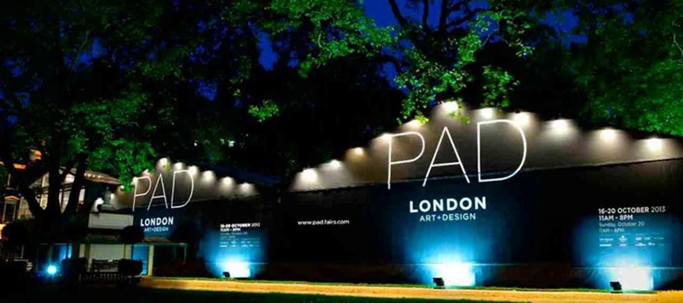 La Foire d'Art PAD Londres ou Pavilion d'Art & Design de Londres, si vous préférez, comprends des œuvres exceptionnelles de l'art moderne, du design, des arts décoratifs, de la photographie, des bijoux et de l'art tribal depuis 1860 jusqu'à aujourd'hui
