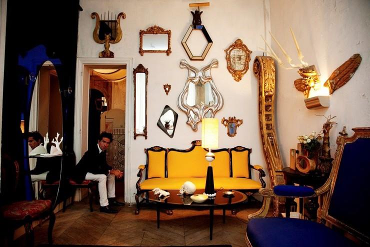 Il a travaillé pour Prada, a passé six ans chez Fendi auprès de Lagerfeld, avec qui il n'a jamais autant ri, avant un passage douloureux chez Ungaro. Vincent Darré: l'excentrique designer Vincent Darré: l'excentrique designer 13