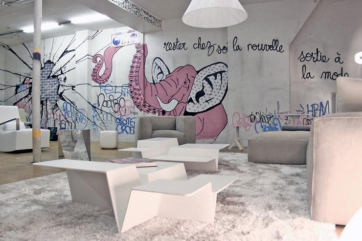 « Ligne Roset, enseigne emblématique du design, ouvrira son nouveau showroom à Paris, rue Réaumur en Février 2014. » Le nouveau showroom de Ligne Roset à Paris Le nouveau showroom de Ligne Roset à Paris Gal06
