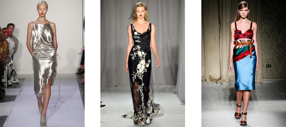 « VOGUE a créé un guide de mode pour le Printemps de 2014 et aujourd'hui nous vous présentons quelques des tendances qui sont sur ce guide. »