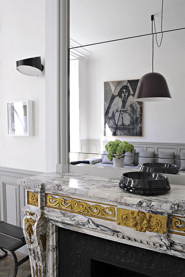 « Nous avons déjà vous présentez plusieurs projets de Joseph Dirand, le créateur de l'année 2013 et il continue à nos surprendre. Aujourd'hui c'est sur son dernier projet que nous écrivons, un projet dont le mot à retenir est minimal. » Joseph Dirand: Le luxe minimal Joseph Dirand: Le luxe minimal Joseph Dirand Le luxe minimal Architecture Design Magasins Deco 1
