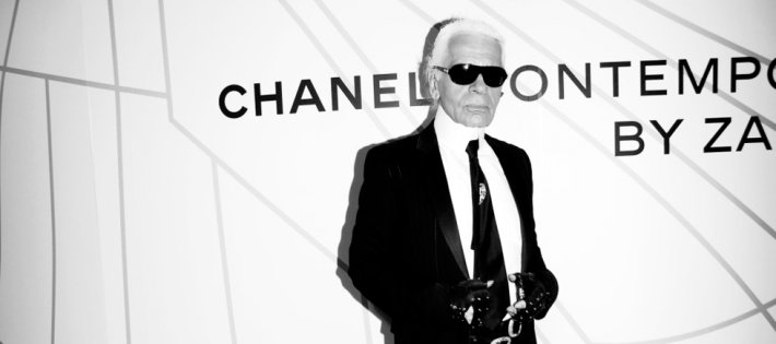 « Pour cette fin d'année, le grand couturier de la maison Chanel, Karl Lagerfeld présente un film sur un moment de la vie de Coco Chanel. »