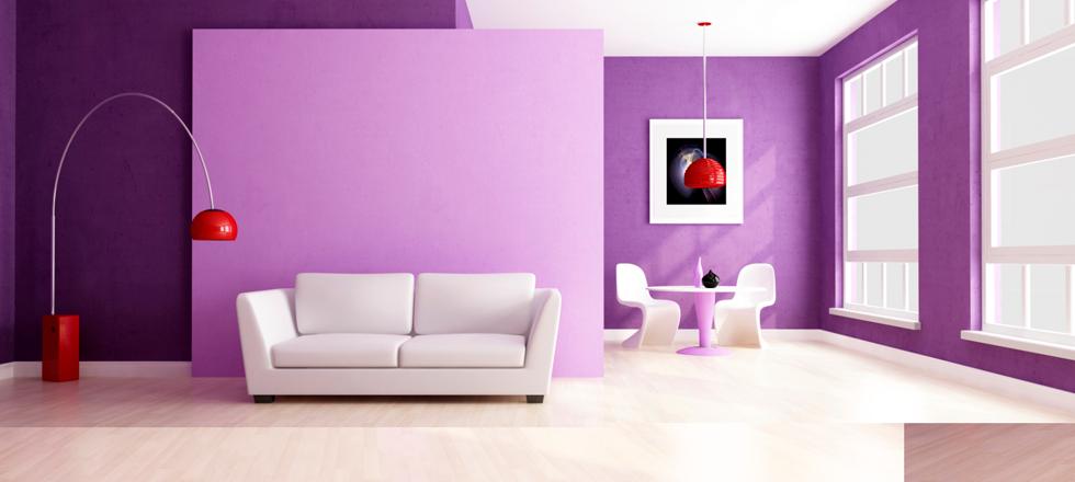 « Aujourd'hui nous parlons surtout sur l'utilisation de cette couleur dans la décoration intérieur de votre maison. »