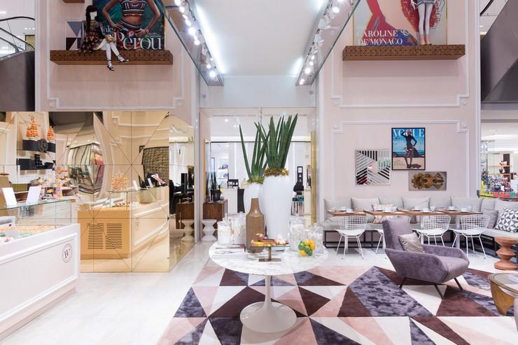 Printemps Paris Vogue Cafe