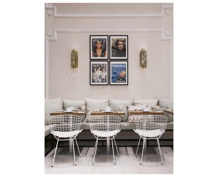 « Dès le 23 janvier au 22 mars, vous pouvez trouver dans l'atrium du Printemps Haussmann le nouveau VOGUE Café. » Le nouveau VOGUE Café au Printemps Le nouveau VOGUE Café au Printemps Le nouveau VOGUE Caf   au Printemps Magasins Deco 3