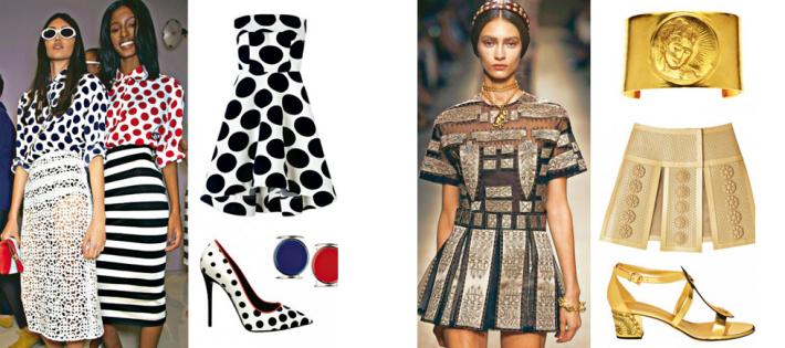 « Nous sommes presque à Printemps et avec elle nouveaux styles, nouvelles couleurs, tissus, matériaux et accessoires. »