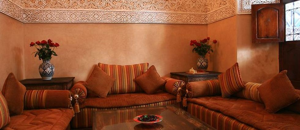 Idées pour une décoration orientale Idées pour une décoration orientale le salon marocain du riad nasreenmaroc voyage origines com 1