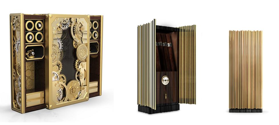 Le mobilier de luxe a arrivé avec Boca do Lobo, expérience émotionnelle exclusive, travail fait à la main, marque de design, dorée, Marques de Luxe, Magasins Deco