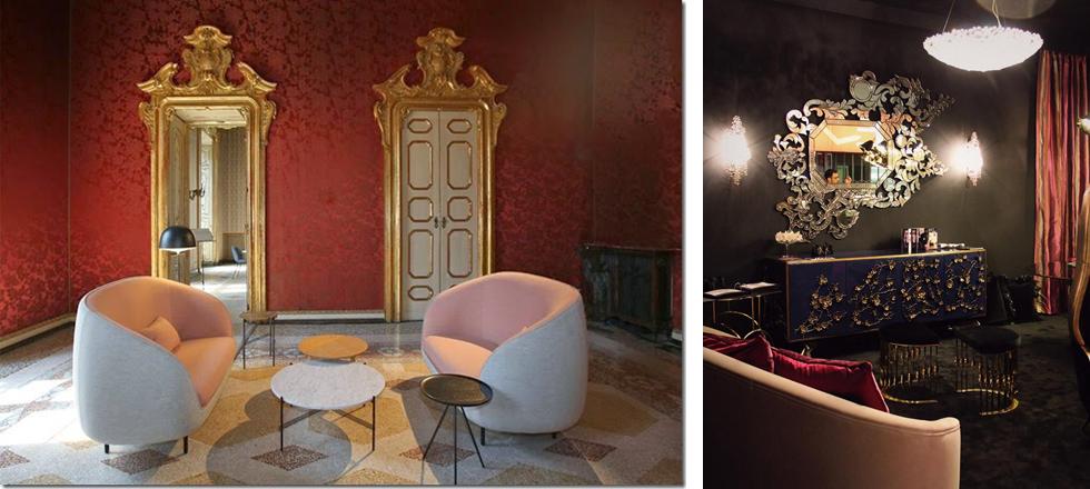 Un jour après Milan, iSaloni, tendances, pièces de mobilier aux formes épurées, décorations baroques, 250 ans de modernité, fête exclusive et extravagante, Événements, Magasins Deco