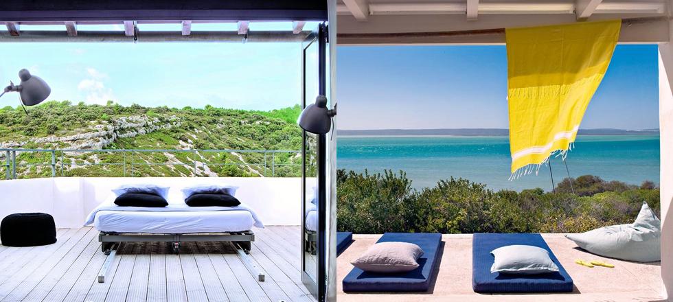 Déco extérieur inspirante, Été, différents couleurs, différents matériaux, agrandir la terrasse, rendre le extérieur plus moderne, relooker le bord de la piscine, Architecture & Design, Magasins Deco
