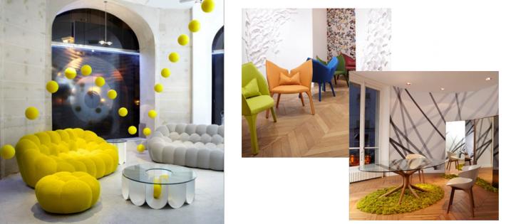 salon au style d co minimaliste. Black Bedroom Furniture Sets. Home Design Ideas