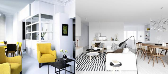 Design minimaliste, couleurs naturelles, absence d'ornementation, tables basses, suggéstions déco, canapés et fauteuils, Architecture & Design, Idées Déco Maison