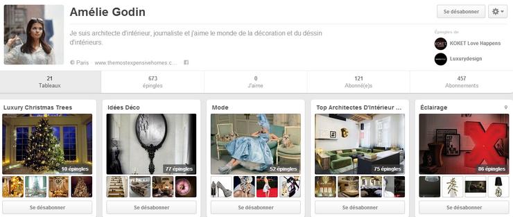 7 Meilleurs Pinterest Français de Déco Les Meilleurs Pinterest Déco Pinterest Am  lie Godin