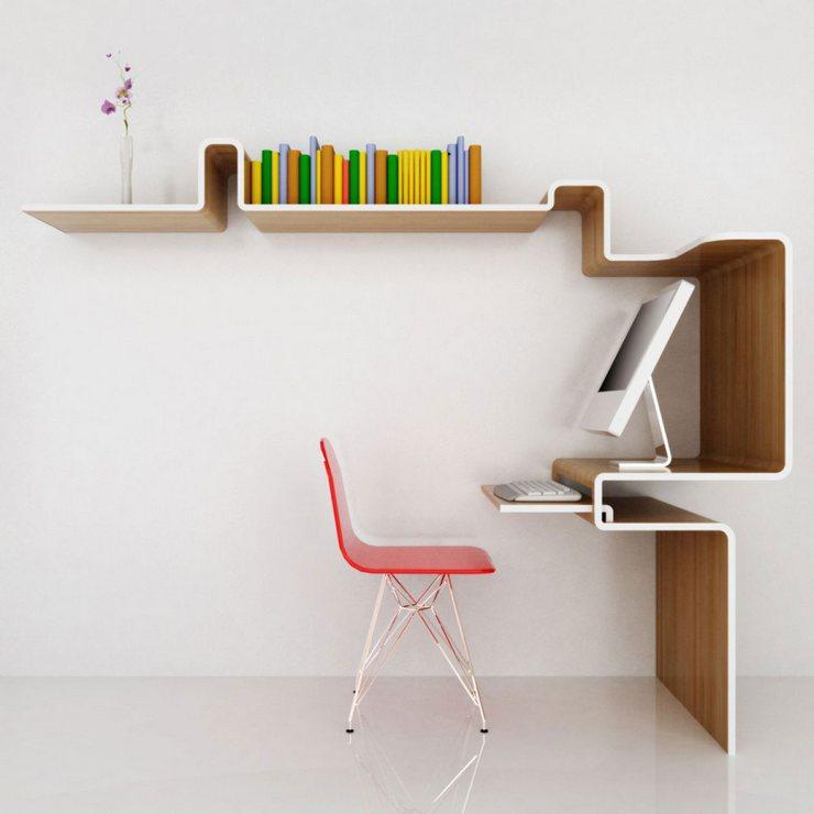 5 Bureaux de Maisons Originaux qui vous feront rester chez vous 5 Bureaux de Maisons Originaux qui vous feront rester chez vous bureau moderne design1