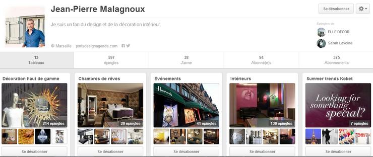 7 Meilleurs Pinterest Français de Déco Les Meilleurs Pinterest Déco jean pierre malagnoux