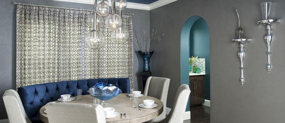 Comment décorer votre salle à manger Comment décorer votre salle à manger Salle a manger Bleu Gris Luxueux   tats Unis 201209172250519o