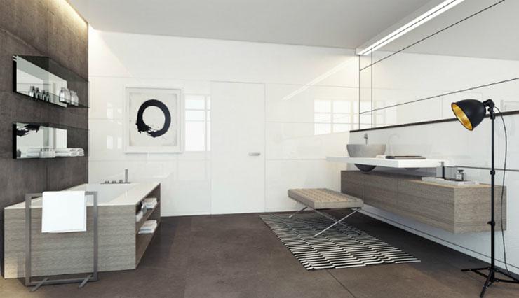 Une chambre contemporaine parfaite en tons de gris Une chambre contemporaine parfaite en tons de gris White gray