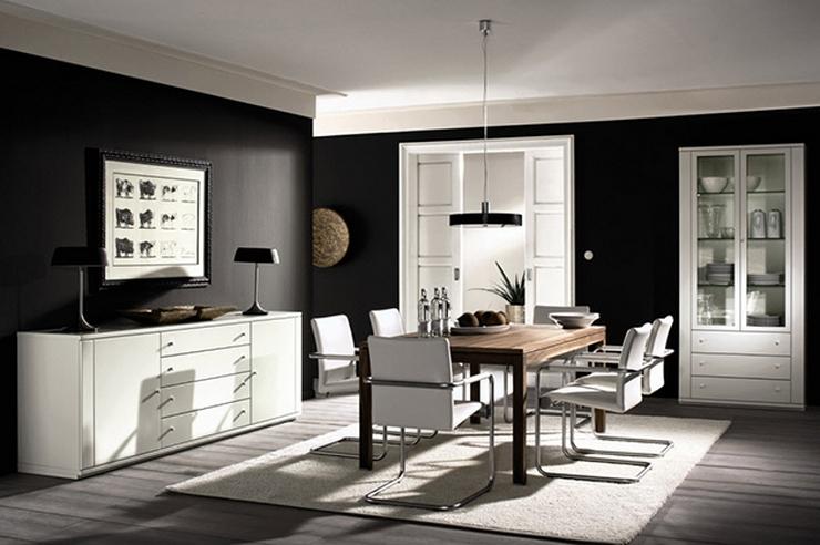 Comment décorer votre salle à manger Comment décorer votre salle à manger bnw dining room