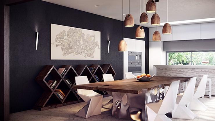 Comment décorer votre salle à manger Comment décorer votre salle à manger rustic modern dining table