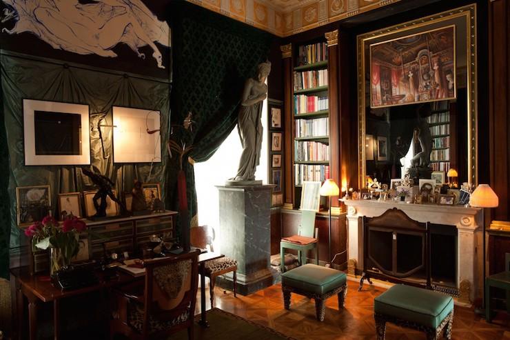 Appartement classique à Paris par Jacques Garcia Appartement classique à Paris par Jacques Garcia 210 Chambre 1200x800