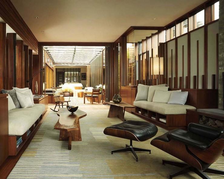 Décorations avec la chaise longue et le pouf de Charles et Ray Eames Décorations avec la chaise longue et le pouf de Charles et Ray Eames 63