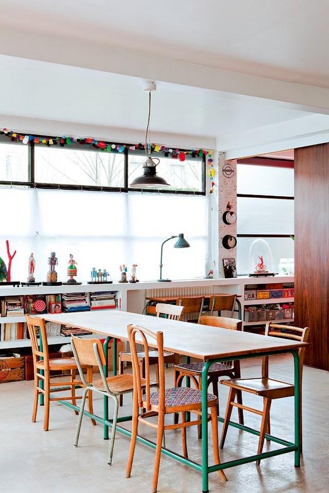 Idées déco pour des salles à manger vintage Idées déco pour des salles à manger vintage Id  es d  co pour des salles    manger vintage 4
