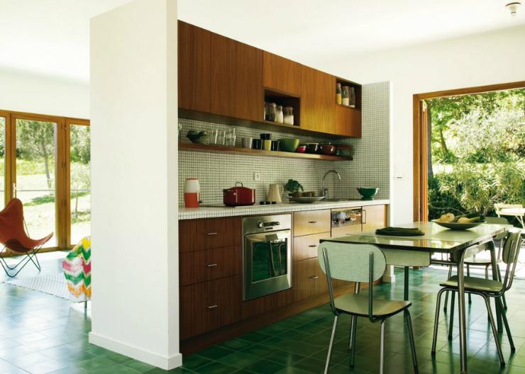 10 id es pour d corer une petite cuisine. Black Bedroom Furniture Sets. Home Design Ideas