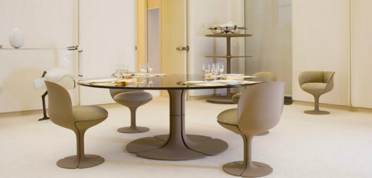 Pompidou, le président fan d'art moderne. Pompidou, le président fan d'art moderne.  palais la salle    manger