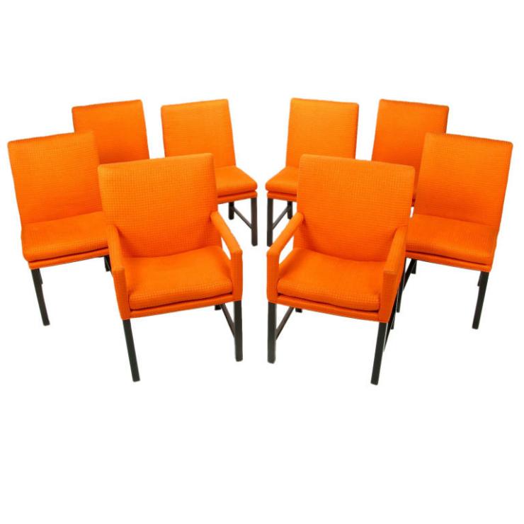 Les couleurs de l'année 2015. Les couleurs de l'année 2015.  tangerine chaises