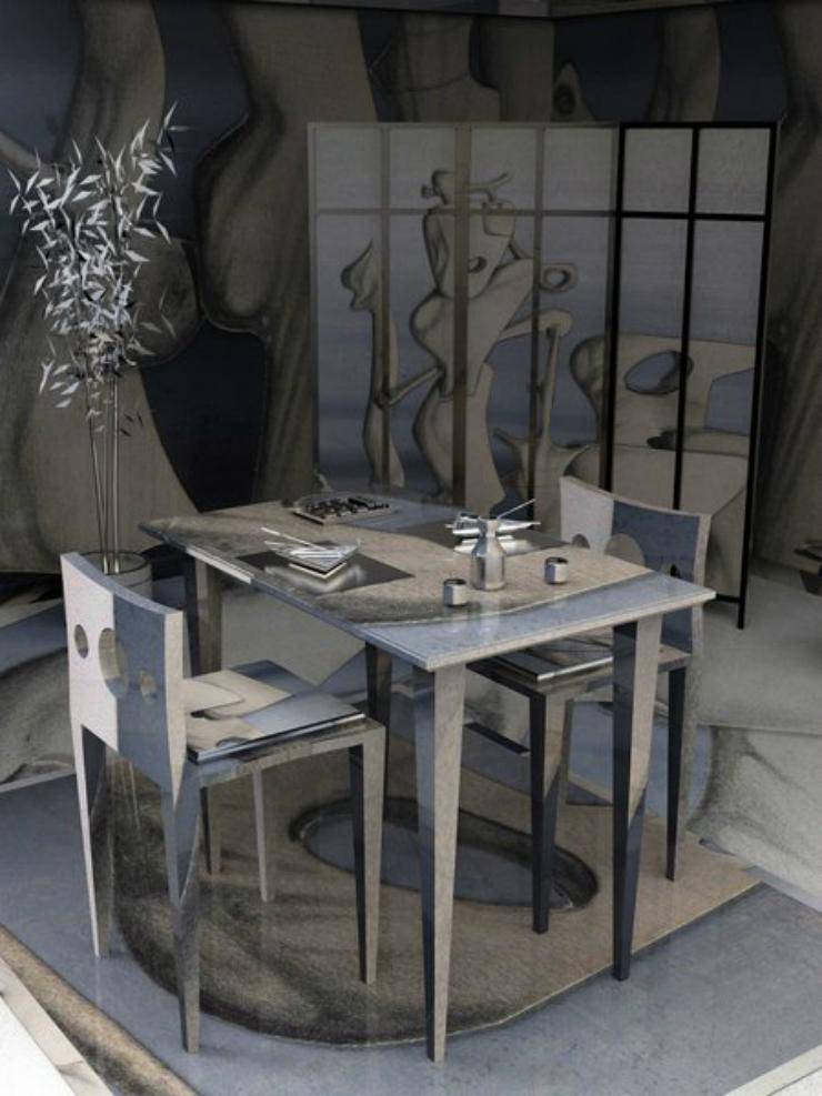 Art Yves tanguy De l'art à la décoration intérieure. De l'art à la décoration intérieure. Art Yves tanguy
