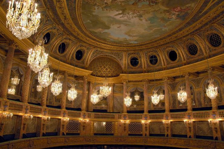 Versaille opera royale Les pièces mythiques du château de Versailles. Les pièces mythiques du château de Versailles. Versaille opera royale