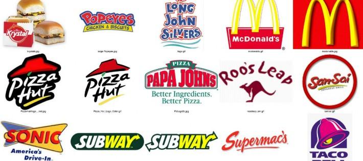 5 fast food au design incroyable. 5 fast food au design incroyable fastfood logos2 710x315