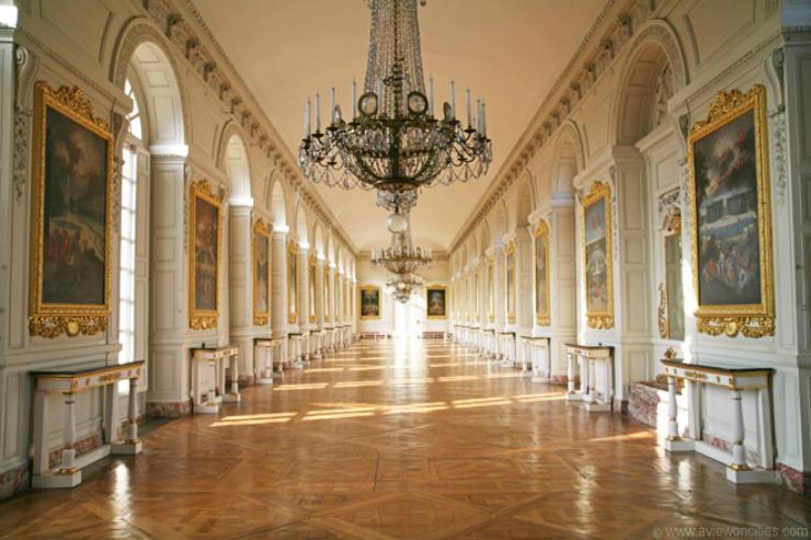 la galerie des cotelles Les pièces mythiques du château de Versailles. Les pièces mythiques du château de Versailles. la galerie des cotelles