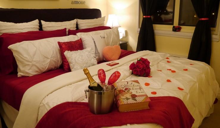 Idées Déco Pour La Saint Valentin - Romantiques idees de decoration de chambre pour saint valentin