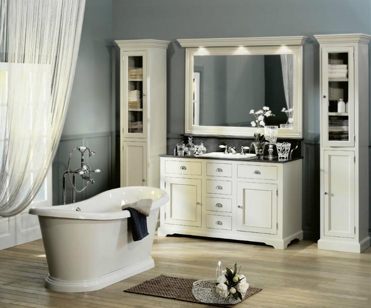 nos id es d co pour une salle de bain chaleureuse. Black Bedroom Furniture Sets. Home Design Ideas