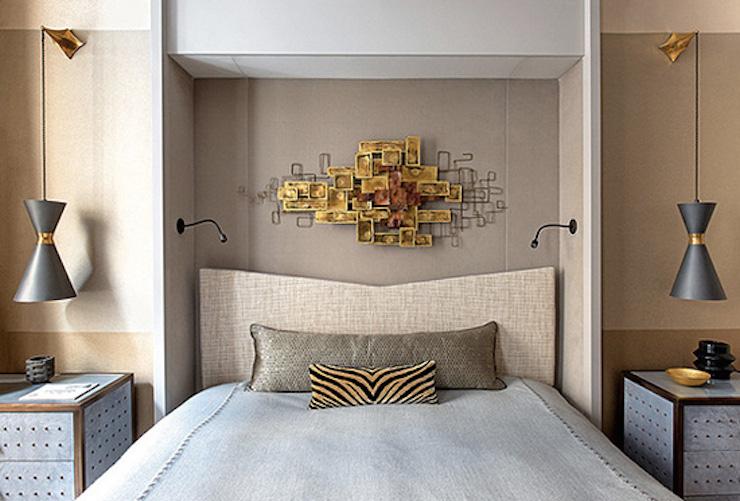 """""""Appartement à Paris par Jean-Louis Deniot"""" Appartement à Paris par Jean-Louis Deniot Appartement à Paris par Jean-Louis Deniot Bedroom1"""