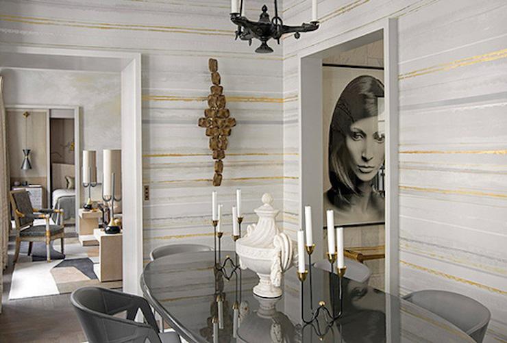 """""""Appartement à Paris par Jean-Louis Deniot"""" Appartement à Paris par Jean-Louis Deniot Appartement à Paris par Jean-Louis Deniot Dining"""