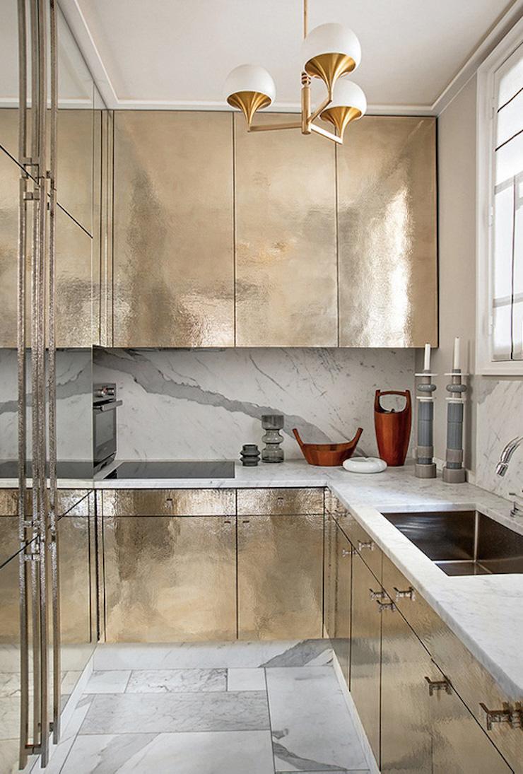 """""""Appartement à Paris par Jean-Louis Deniot"""" Appartement à Paris par Jean-Louis Deniot Appartement à Paris par Jean-Louis Deniot Kitchen"""