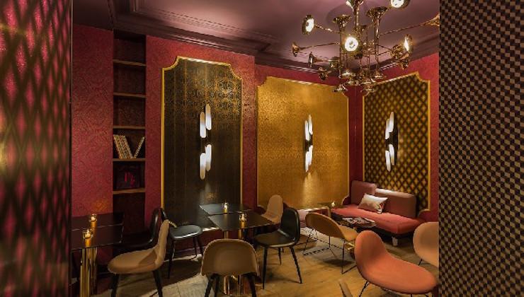 """""""l'Idol Hotel à Paris: l'émotion du design"""" l'Idol Hotel à Paris: l'émotion du design l'Idol Hotel à Paris: l'émotion du design LOBBY 3 IDOL HOTEL PARIS 8"""
