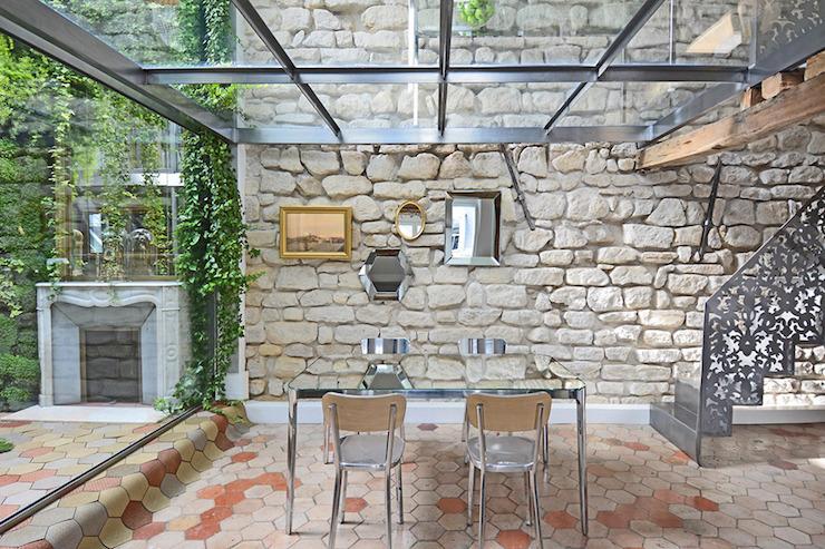 """""""Duplex penthouse à Paris par Michael Herrman"""" Duplex penthouse à Paris par Michael Herrman Duplex penthouse à Paris par Michael Herrman 1"""