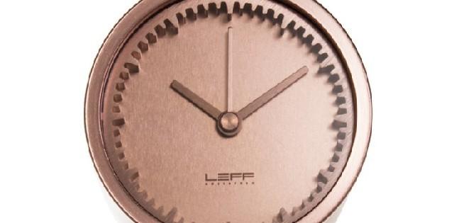 Minimalist-Clocks-by-LEFF-Amsterdam 20 idées Déco: La folie du cuivre 20 idées Déco: La folie du cuivre Minimalist Clocks by LEFF Amsterdam 640x315